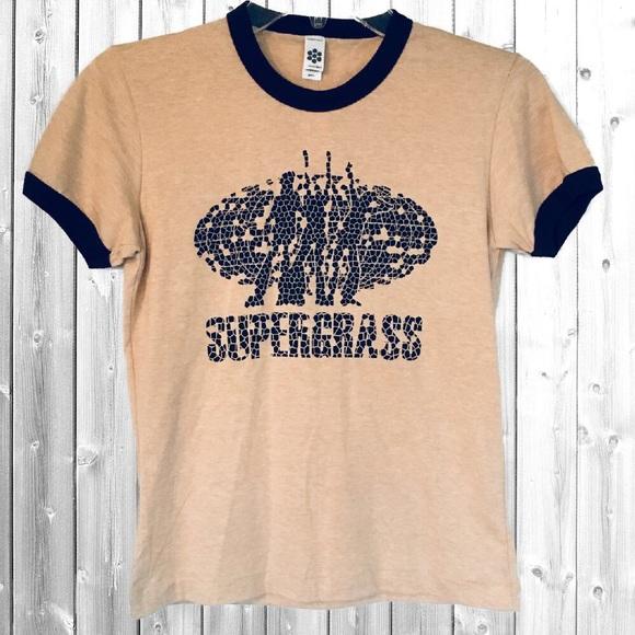 3d8b93c3 American Apparel Tops - NWOT Supergrass 90's Tee Vintage Tee Indie British